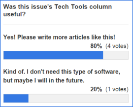 Tech tools poll